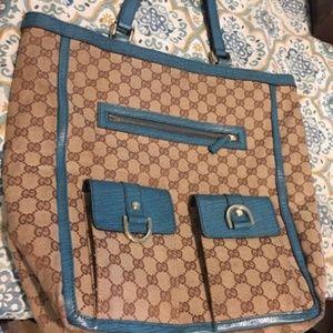 Gucci monogram tote